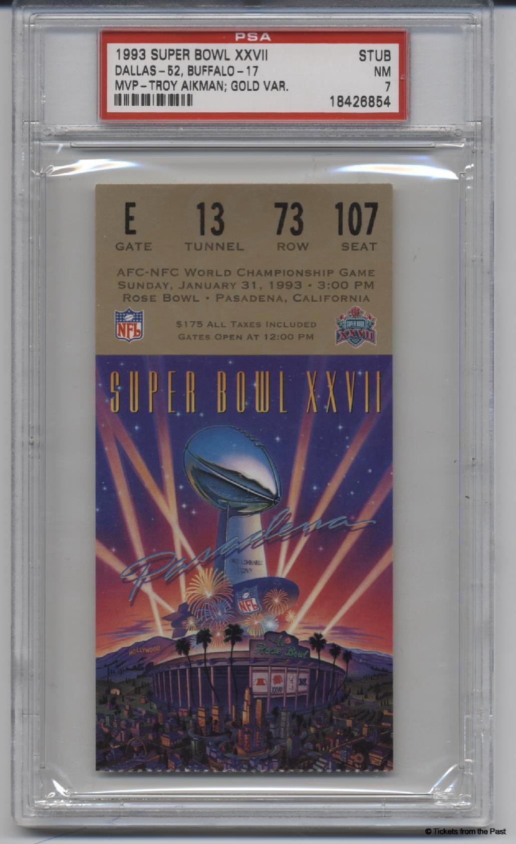 Super Bowl History. Fans can go big for